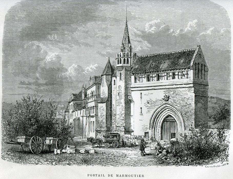 Abadía de Marmoutier - Monasterios