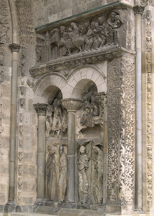 Monasterios Portada De Saint Pierre De Moissac